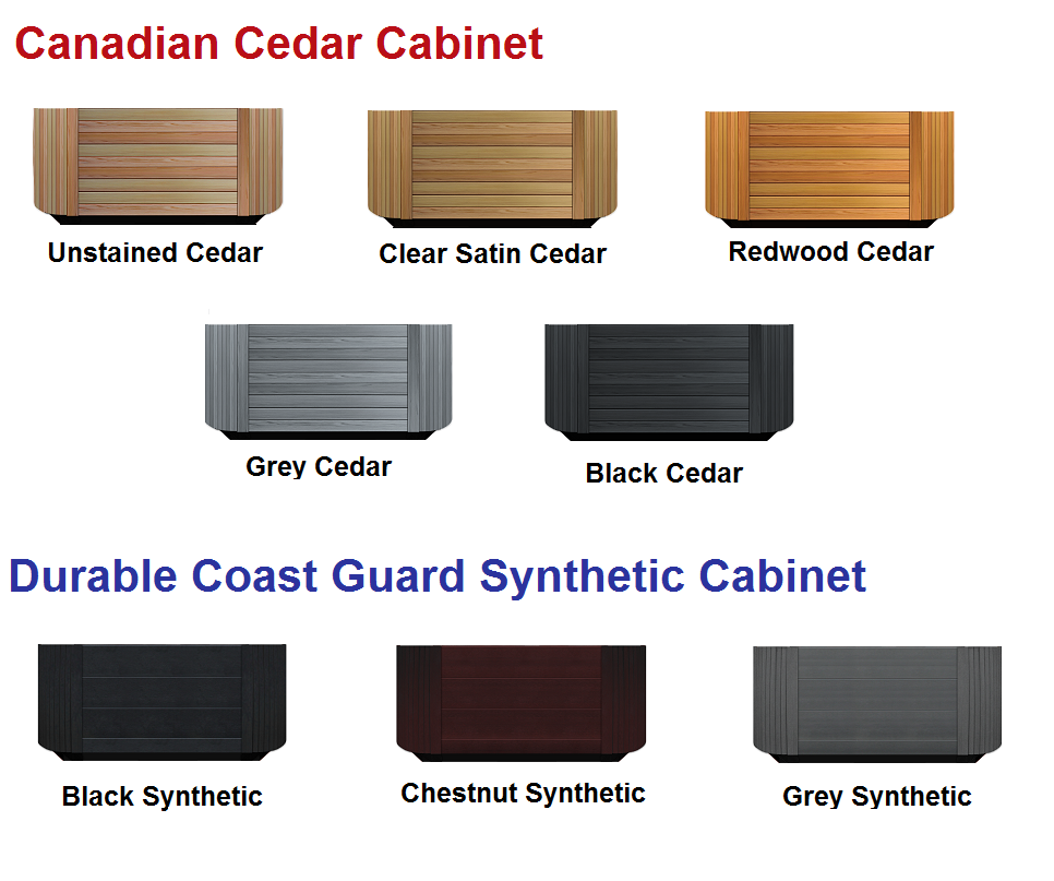 Northwind Cabinet Color Options 2016