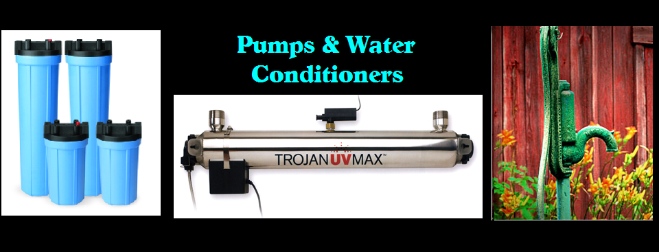 Pumps & Water Conditioners